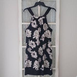 New Sleeveless Sheath Floral Print Mud Pie Dress